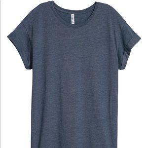 H&M blue t shirt